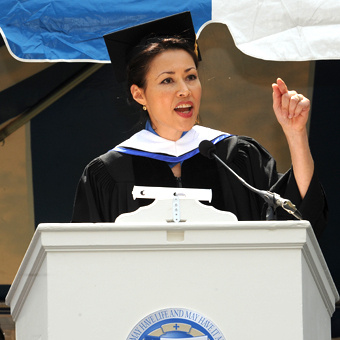 Ann Curry Commencement