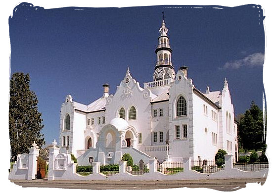 swellendam-dutch-reformed-church-brian-snelson-bontebok