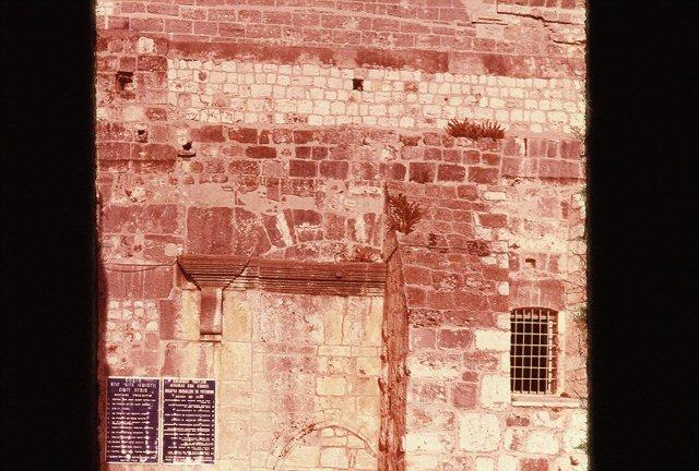 Bethlehem church door