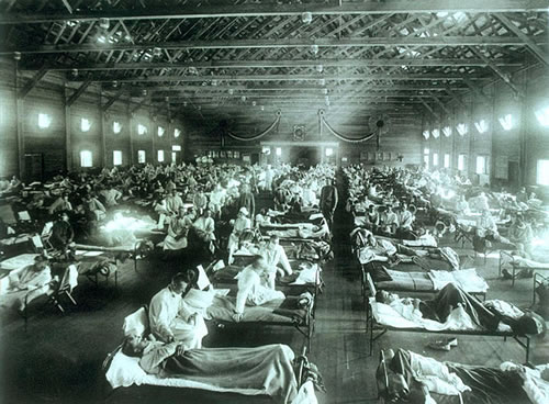 spanish-flu-ward-camp-funston