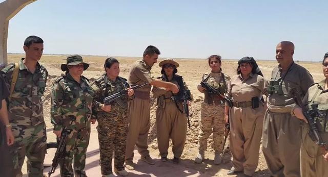 Women kurdish regiment